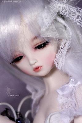 [BJD娃頭]里親 AE DOLL失語精靈-Pear雪梨(已絕版)白肌無妝頭(1/4四分娃)Asleep Eidolon