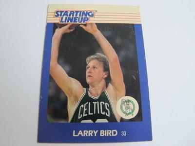 ~ Larry Bird ~1988年STARTING LINEUP 大鳥柏德 老舊NBA球員卡