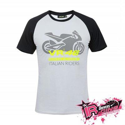 ♚賽車手的試衣間♚ VR46 Rossi ITALIAN RIDERS RAGLAN SLEEVES T恤 短袖