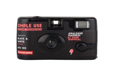 成功攝影 全新 Lomography Simple Use Camera 400 Black & White 黑白負片 即可拍相機 底片機