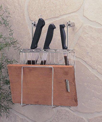 ☆成志金屬☆ S-37-1D不銹鋼 掛式砧板、不鏽鋼刀架,可使用於掛桿。