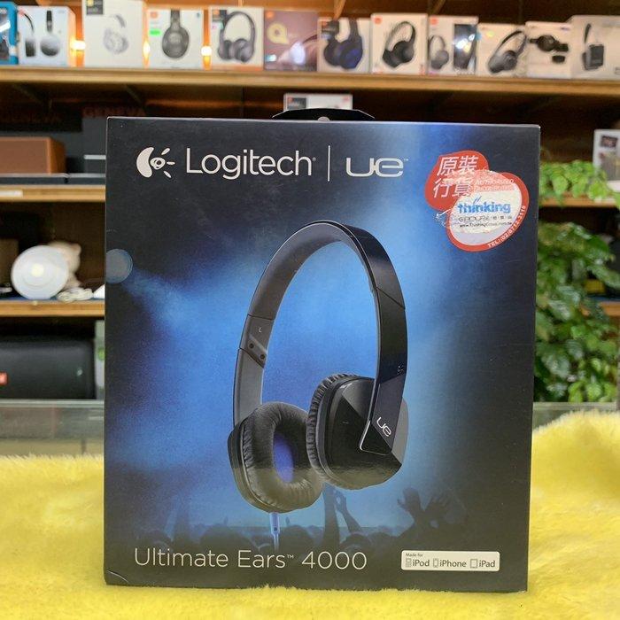 限量出清 視聽影訊  附收納袋 UE Ultimate Ears UE4000/UE 4000 耳機 紫 黑