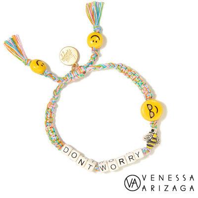 Venessa Arizaga DON'T WORRY BEE HAPPY 笑臉手鍊 彩色手鍊 墨鏡款