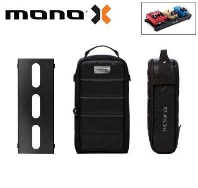 美國 MONO PEDALBOARD LITE 黑色便攜型效果器盤+TICK 2.0 便攜型效果器袋 軍事化防震防潑水