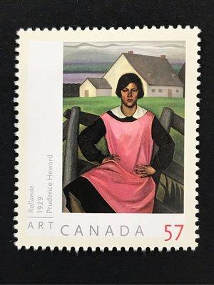 2010.07.02 加拿大 藝術系列普魯登斯·海沃德(Prudence Heward)畫作《羅蘭德》 套票1全21元
