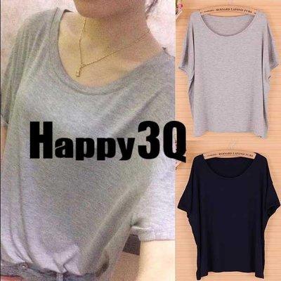 休閒寬鬆莫代爾短袖上衣T恤T-Shirt-多色【AAA0297】預購