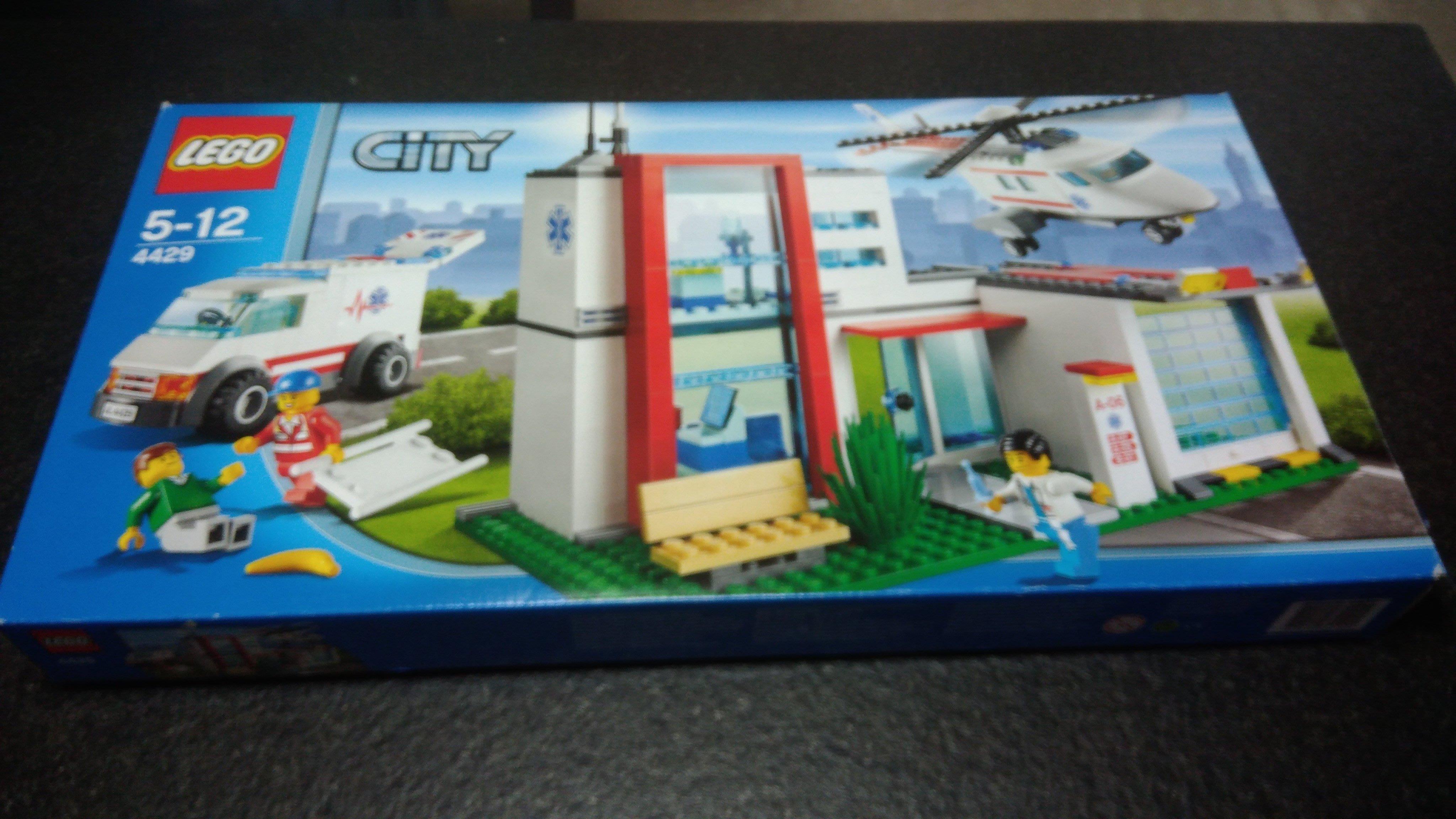 [二手]樂高,Lego 4429 City Town Hospital Helicopter Rescue