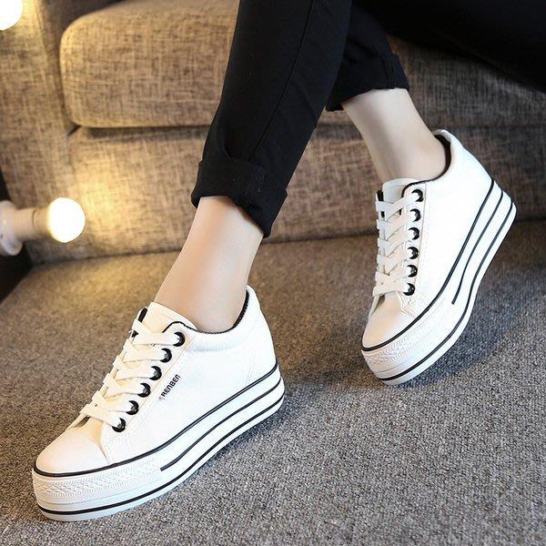 =WHITY=韓國FUPA品牌 韓國製  好穿好走新款厚底鞋 簡約經典百搭内增高 S6JR219