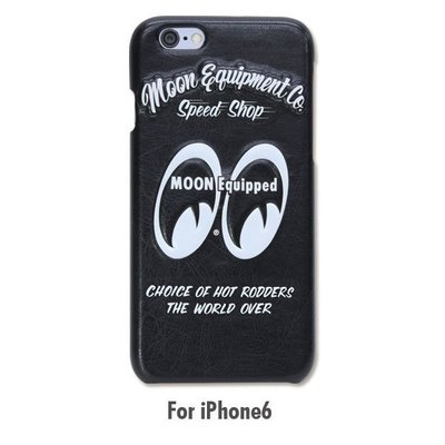 (I LOVE樂多)MOON Equipped iPhone6/s 4.7 可通用硬質立體合皮手機殼 質感大幅提升