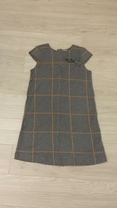 Zara girls 毛料短袖洋裝 299+1元起標