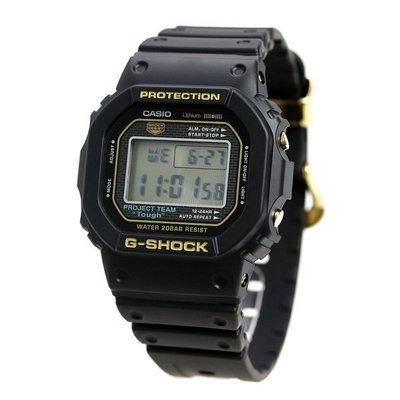 DW-5035D-1B 炮台山門市保用一年 信心保證 CASIO 卡西歐 G-Shock 35th Anniversary ORIGIN GOLD