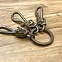 造夢師【純手工】【全新】打磨 實心純黃銅 小惡魔和骷髏配件 鑰匙圈/鑰匙配件/吊飾/銅飾