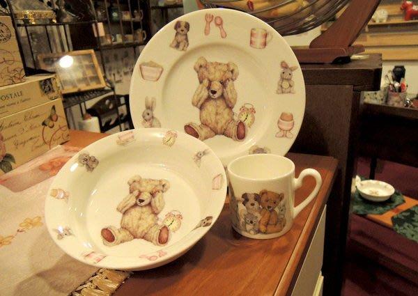 英國RK骨瓷餐具 Teddy Time泰迪熊兒童禮品組 兒童餐具 兒童禮物 骨瓷馬克杯盤組