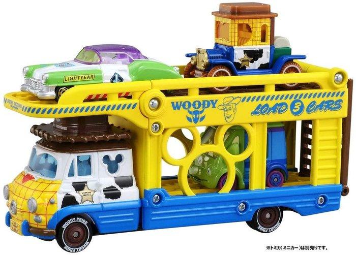 ..☆.。.【Disney  TOMIKA】日本限量☆.。貨車架~玩具總動員~限量新款車☆.。.:*
