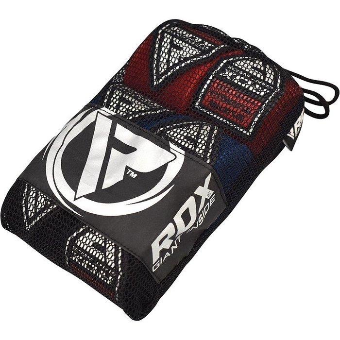 【神拳阿凱】RDX 英國 HWC-RBU 拳擊 格鬥 手綁帶組 450cm 紅黑藍 三入(免運)