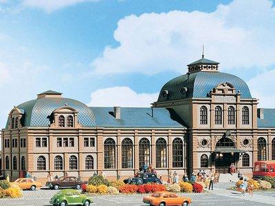 傑仲 (有發票) 博蘭 公司貨 VOLLMER 場景組 Bahnhof Baden 43560 HO