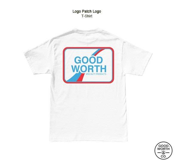 GOODFORIT / 美國飾品專門品牌Good Worth Logo Patch T-Shirt貼布概念