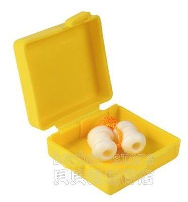 (安全衛生)台灣製洋菇型有線耳塞(附保存盒)_質地柔軟舒適,防噪音效果極佳_100%台灣製