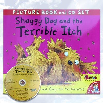[邦森外文書] Shaggy Dog and the Terrible Itch 粗毛狗和可怕的癢癢 平裝有聲書