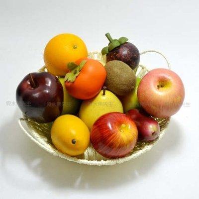 [MOLD-D262]仿真水果套裝 假水果蔬菜櫥櫃裝飾食品模型 高仿真水果套裝