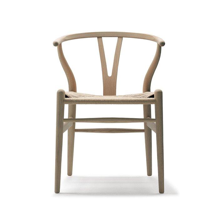 Luxury Life【預購】Carl Hansen & Son CH 24 Y-chair Y 字椅 皂裝款 山毛櫸