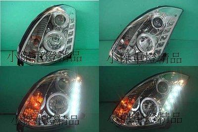 ~傑暘國際車身部品~ 超炫 款infiniti g35 g35 coupe 類R8 drl晶鑽燈眉光圈魚眼大燈