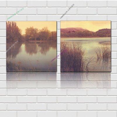 【50*50cm】【厚0.9cm】風景-無框畫裝飾畫版畫客廳簡約家居餐廳臥室牆壁【280101_147】(1套價格)