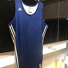 二手正貨Adidas 雙面籃球波衫 M size