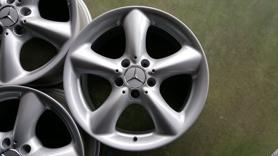 17吋BENZ W203 C230K原廠鋁圈含馬牌胎~W202.W209.W210.R170.R171.CLK.SLK~