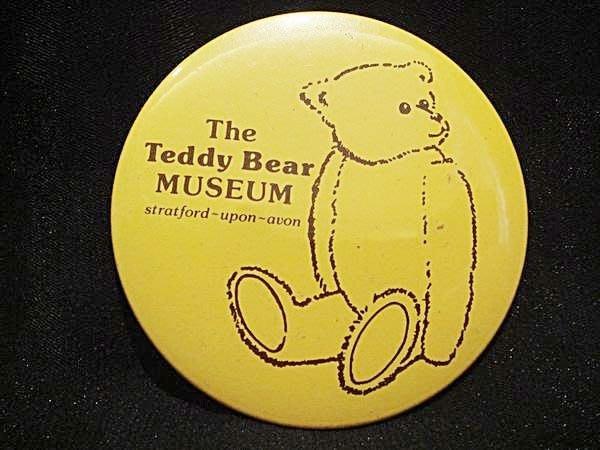英國 Stradford-upon-Avon Teddy Bear Museum帶回,全新別針胸針,低價起標無底價!免運