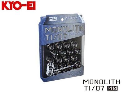 【Power Parts】KYO-EI MONOLITH T1/07 防盜螺絲組-亮黑(M14xP1.5)