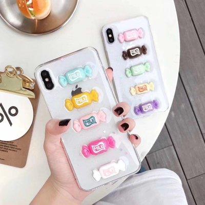 ☆韓元素╭☆Mobile-Style 彩色糖果造型 iPhone 11 保護套 6.1吋 軟式保護殼 透明 防摔 糖果