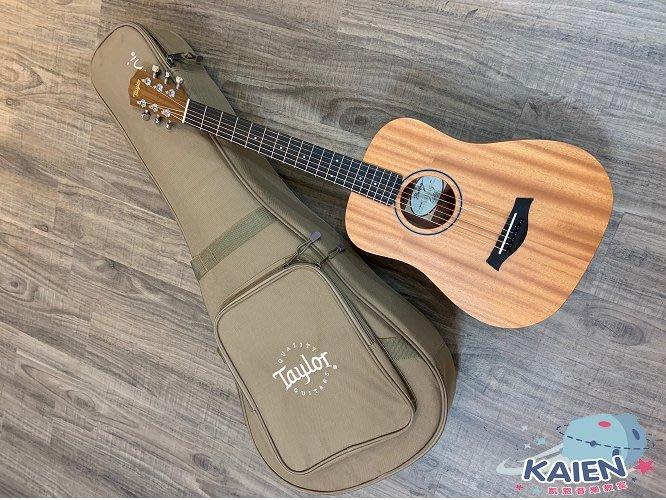 『凱恩音樂教室』免運 公司貨 Baby Taylor 專賣 BT2 面單 木吉他 全桃花心木 旅行吉他 34吋 墨廠