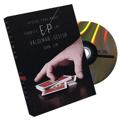 [魔術魂道具Shop] 美國原版教學DVD~Extended Play by Valdemar Gestur~筋撲克~