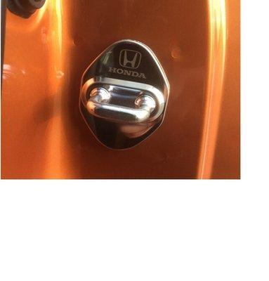 【車友趣】honda 不鏽鋼 車門鎖 門鎖蓋 HRV HR-V crv civic fit city accord 本田車用品