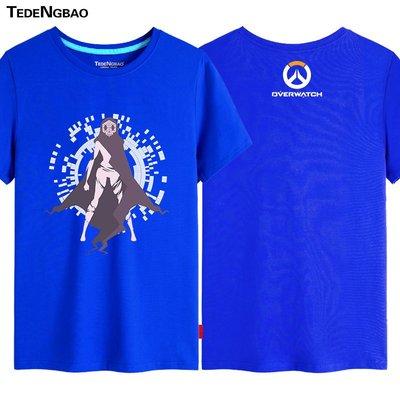 【SeVeN's Shop】精選代購 Overwatch鬥陣特攻 新角色Sombra #3 短袖上衣 男女 大尺碼