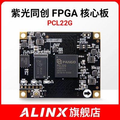 國產FPGA核心板開發板紫光同創Logos系列 PGL22G 學習板ALINX黑金