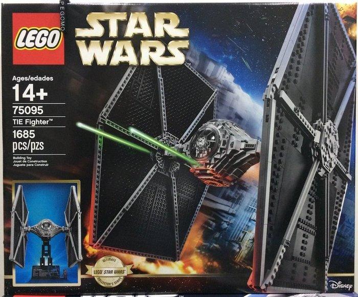 【痞哥毛】LEGO 樂高 75095 Star Wars 星際大戰 TIE Fighter 全新未拆
