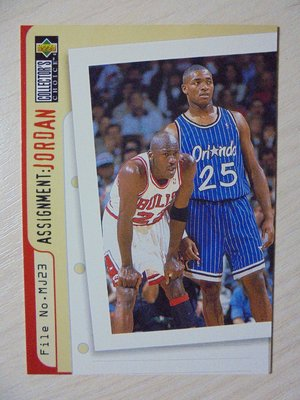 UD Collector's Choice Assignment Jordan Nick Anderson #362