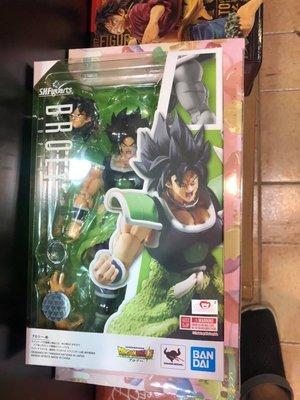 行版  BANDAI S.H.FIGUARTS SHF Dragon Ball 龍珠 Broly super 布洛尼