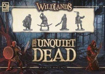 大安殿實體店面 荒地:死不瞑目擴充 Wildlands: The Unquiet Dead  英文正版益智桌遊