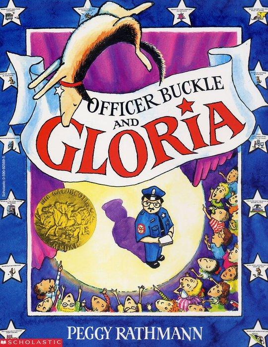 *小貝比的家*OFFICER BUCKLE AND GLORIA (巴警官與狗利亞)/平裝/3~6歲