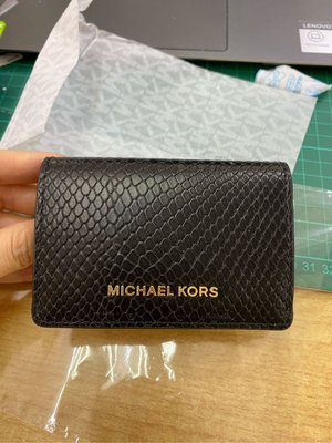 Michael KorsJet Set Flap Card Case