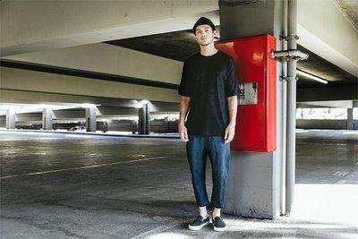 【GIANT MALL】 PUBLISH SLASH PANTS 工作褲 九分褲 深藍色 P1601001