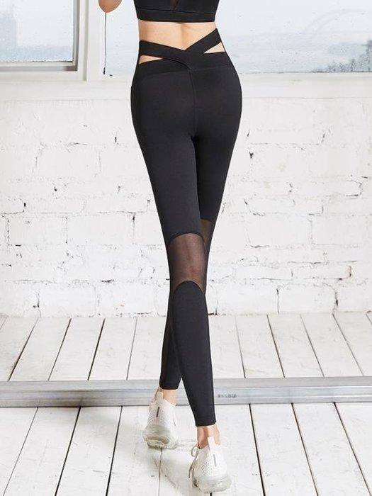 麥麥部落 健身褲女彈力緊身速幹褲外穿春夏季跑步訓練運動褲收腹提臀瑜伽褲MB9D8