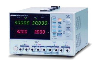 TECPEL 泰菱 》固緯 GWInstek GPD4303S 多組輸出 直流電源供應器高解析度 GPD-4303S