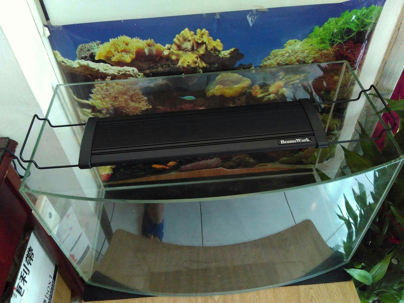 二手二尺魚缸 套缸 含全新燈具 ,   碎石頭,小石頭 魚缸加熱棒 king kong heater HT100
