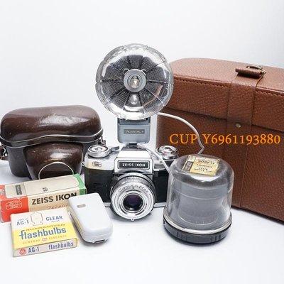 CUP·數碼 經典德國蔡司相機Zeiss Ikon Contaflex雙鏡頭全金屬機械膠片單反