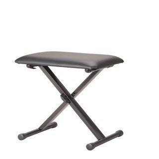 【名人樂器】台製高品質專業可調式 X 型 電子琴椅(加粗鋼管/安全卡榫/三段調整800含運)