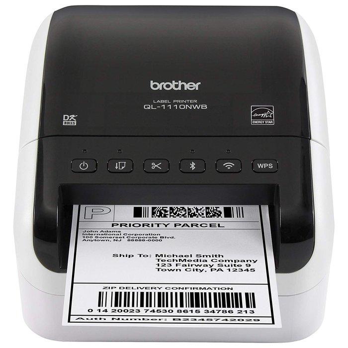 【BROTHER】含稅 QL-1110NWB 專業大尺寸條碼標籤機 網路與藍牙多元傳輸介面 取代QL-1050
